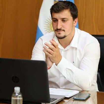 Alejo Chornobroff (Frente de Todos), actual intendente interino de Avellaneda en reemplazo de Jorge Ferraresi, no reveló cuánta gana.