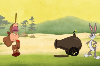 Un cañón de corta distancia es de lo más que se permite en esta nueva saga del clásico animado (Foto: HBO Max)
