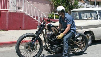 Son varios modelos de Harley Davidson que figuran en la flota de la popular celebrity