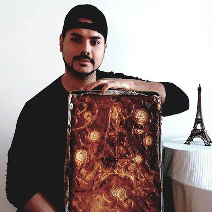 Además de chipá, Maxi elabora sopa paraguaya, asado, ñoquis y ahora sumó el pan dulce de batata