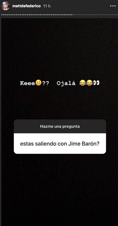 La confesión del futbolista en Instagram.