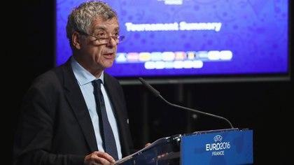 Ángel Villar fue presidente interino de la UEFA durante la Eurocopa 2016 (Getty Images)