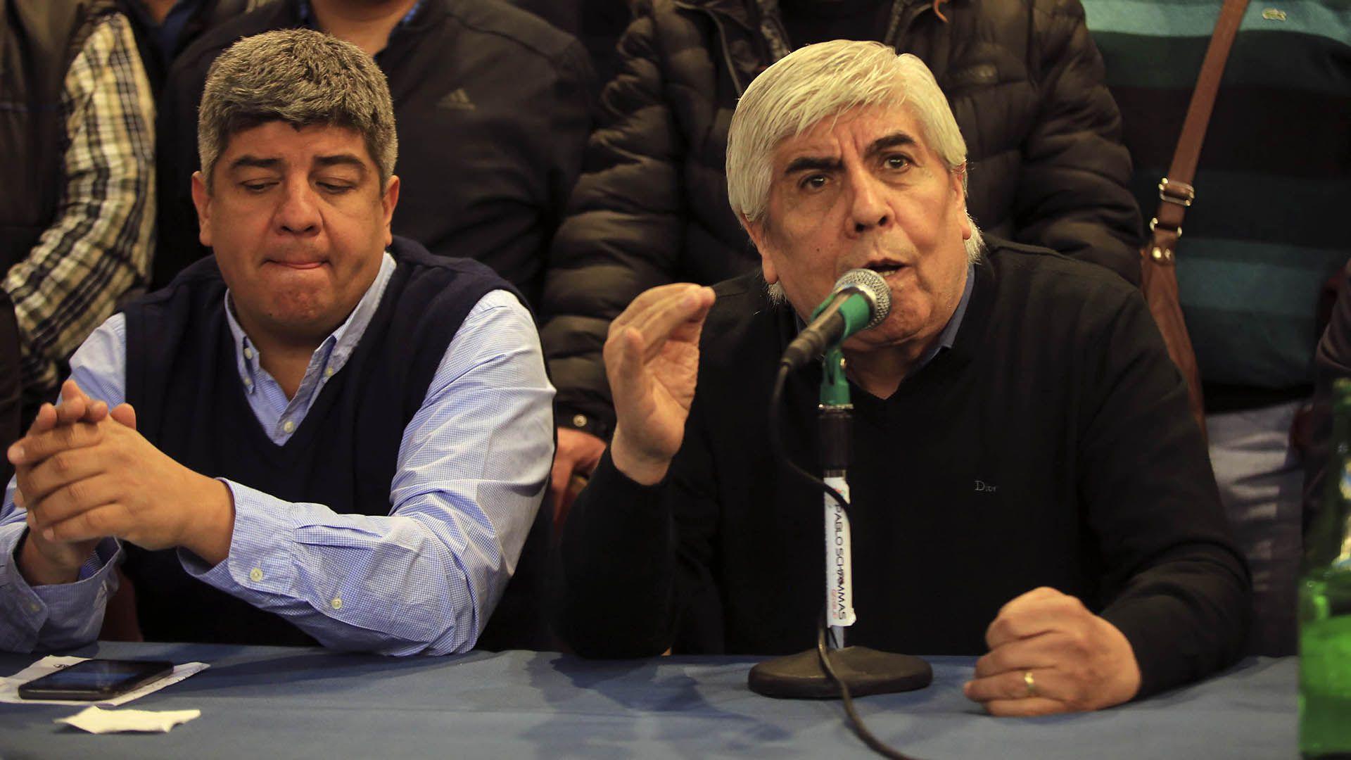 Pablo y Hugo Moyano (NA)