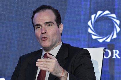 Mauricio Claver-Carone? en la Cumbre de las Américas en Bogotá, 14 de mayo de2019.