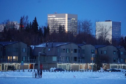 Anchorage, Alaska. REUTERS/Yereth Rosen
