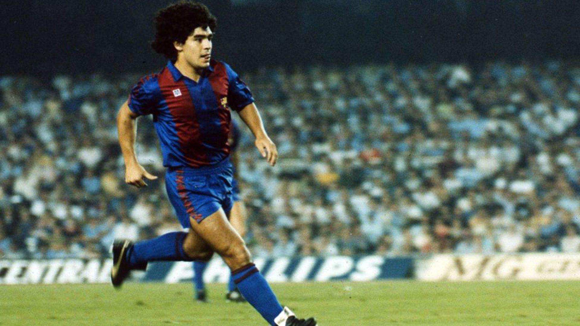 Maradona fichó por el FC Barcelona en 1982 (Barcelona FC)