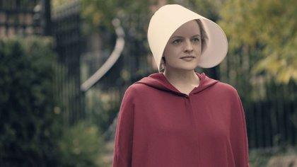 """Elisabeth Moss, en una imagen de la serie """"El cuento de la criada"""""""