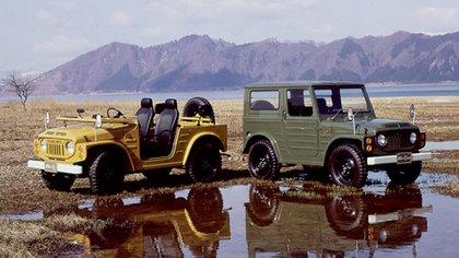 La primera generación del Jimny fue la elegida por el Salón de la Fama de Japón (Suzuki)