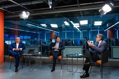 Los especialistas, en el estudio de Infobae (Foto: Franco Fafasuli)
