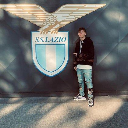 El futbolista regresó a la capital italiana en enero (Instagram)