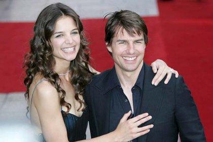 Katie Holmes y Tom Cruise parecían una pareja de ensueño