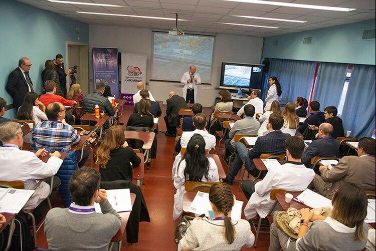 El Curso de capacitación en trasplante hepático pediátrico tiene muchos interesados en toda Latinoamérica (Hospital Garrahan)
