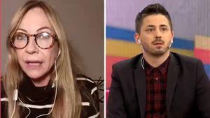 """Inés Estévez y el tenso debate con un periodista: """"Vos debés ser el polémico del panel"""""""