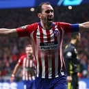 Soccer Football - Champions League - Round of 16 First Leg - Atletico Madrid v Juventus - Wanda Metropolitano, Madrid, Spain - February 20, 2019 Atletico Madrid's Diego Godin celebrates scoring their second goal REUTERS/Sergio Perez
