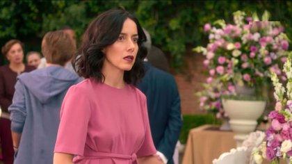 Cecilia Suárez en el rol de Paulina de la Mora (Foto: captura)