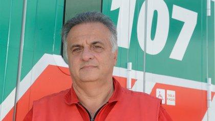 El director del SAME, Alberto Crescenti (Fernando Calzada)
