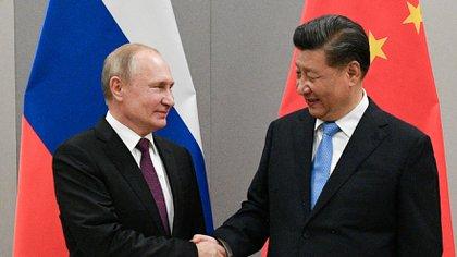 Los países del G7 condenaron las violaciones a los derechos humanos perpetradas por los regímenes de Rusia y China (Sputnik/Ramil Sitdikov/Kremlin via REUTERS)