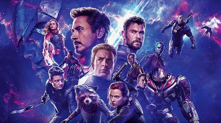El póster de Avengers Endgame