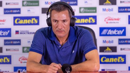 Gabriel Caballero se dijo satisfecho por la actuación de su equipo (Foto: Cortesía/ Atlético de San Luis)