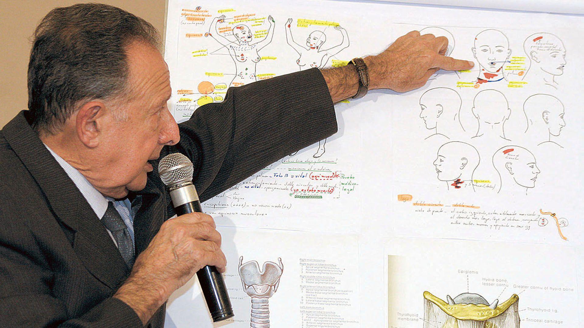 Osvaldo Raffo fue perito y explicó el caso dalmasso. Estaba convencido sobre quién era el criminal, pero se llevó el secreto a la tumba (Foto: NA)