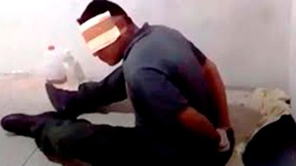 Coronel Jhonny Rafael Mejía Laya cuando fue torturado en la DGCIM