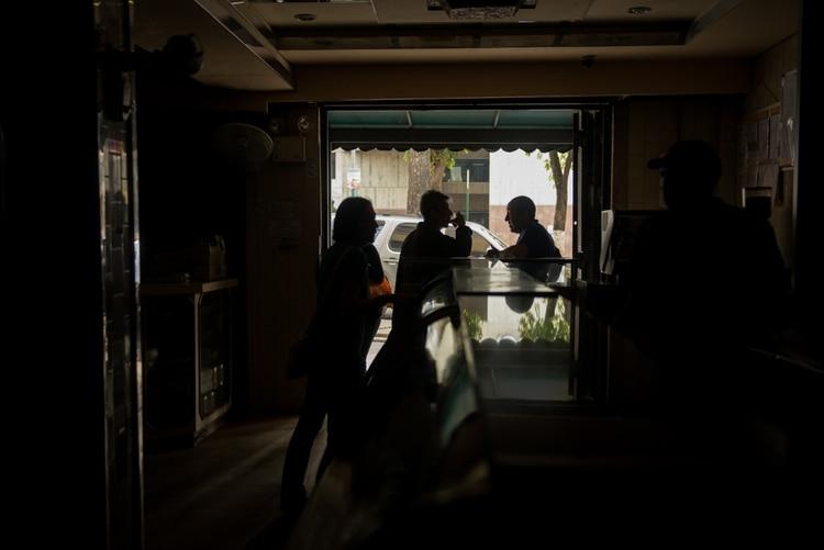 Apagón en Caracas. (Meridith Kohut/The New York Times)