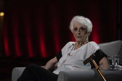 Graciela Fernández Meijide. (Adrián Escandar)