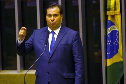 El presidente de la Cámara de Diputados de Brasil, Rodrigo Maia (EFE/Joédson Alves/Archivo)