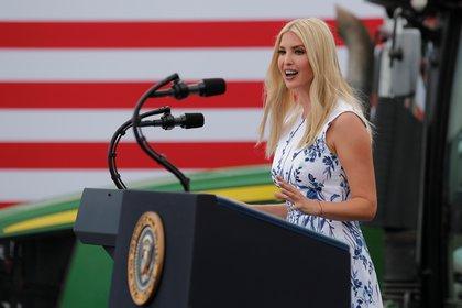 Ivanka Trump, hija y asesora del presidente de Estados Unidos. Foto: REUTERS/Carlos Barria