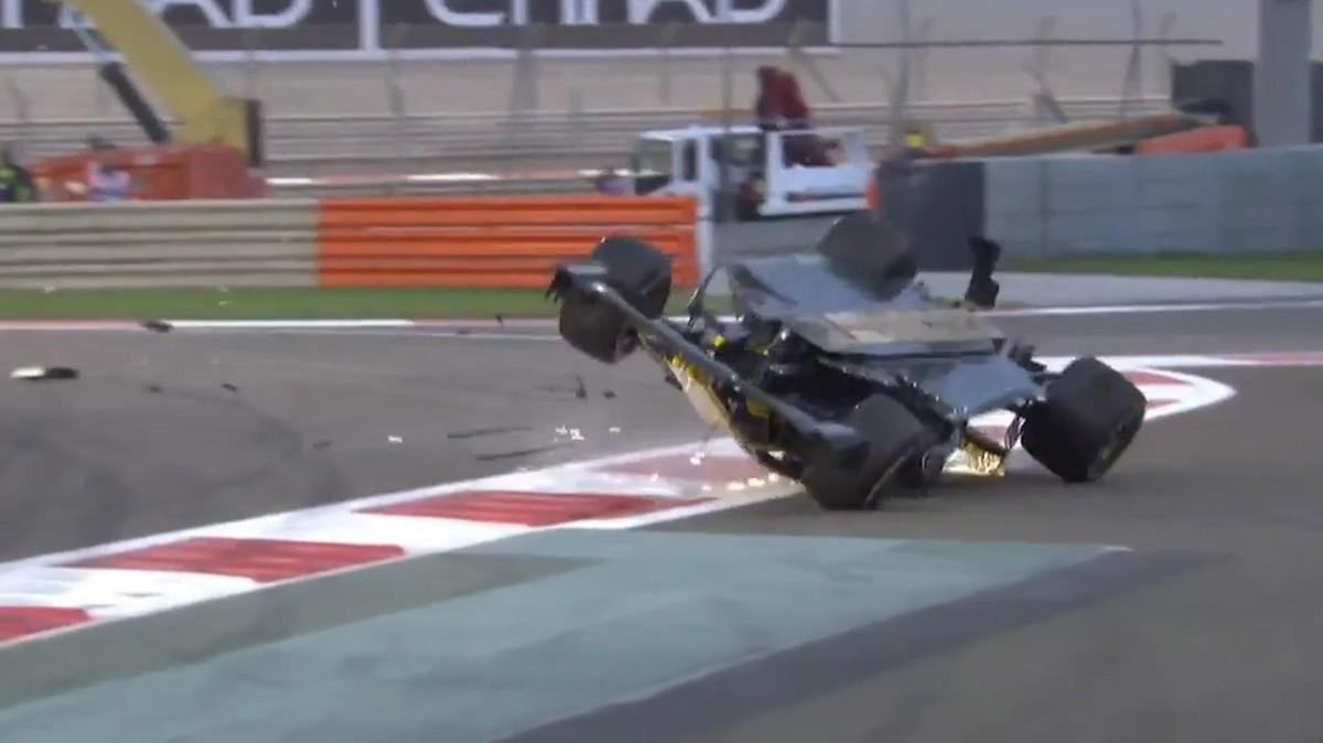 Resultado de imagen de accidente nico Hulkenberg