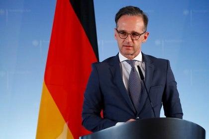 Heiko Maas, ministro de Exteriores de Alemania (REUTERS/Fabrizio Bensch/Pool)
