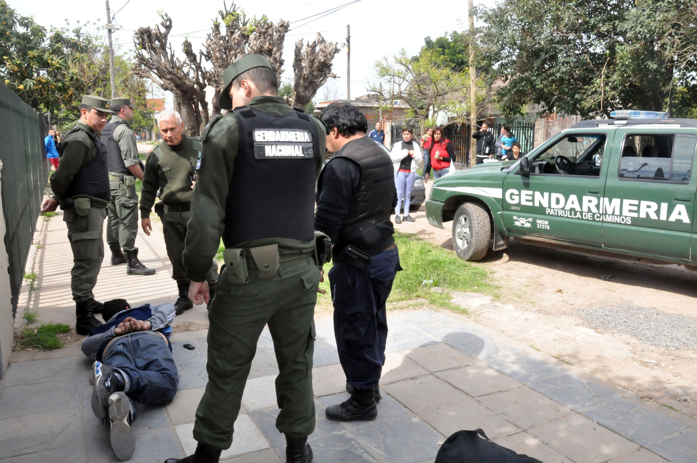 La Gendarmería Nacional es una de las fuerzas de seguridad que están en el Conurbano