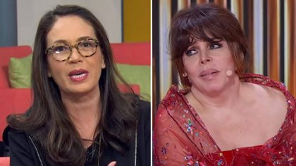 Yolanda Andrade dio más detalles sobre su presunta boda con Verónica Castro (Foto: Captura de pantalla Televisa)