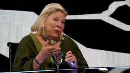 """Elisa Carrió insistió en postergar las PASO: """"Le pido al Gobierno que se calme y a Juntos por el Cambio que no dramaticen"""""""