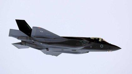 Un caza israelí F-35 (Reuters)