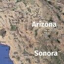 Frontera Sonora Arizona (Goole Earth)