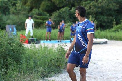 Tras haber llegado a las últimas etapas en su primera participación en Exatlón, Yuseff Farah tuvo que abandonar esta competencia en la semana ocho.(Foto: Twitter/@ExatlonMx)