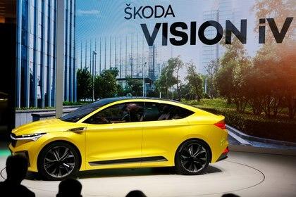 El Skoda Vision iV es un SUV coupé eléctrico con 306 CV y 500 km de autonomía