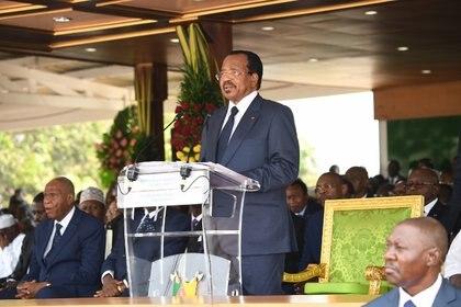 01/01/1970 El presidente de Camerún, Paul Biya POLITICA CAMERÚN INTERNACIONAL PRESIDENCIA DE CAMERÚN