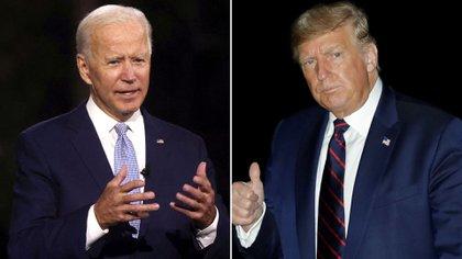Joe Biden y Donald Trump disputarán la presidencia el próximo 3 de noviembre. Durante los próximos días chocarán acerca del mérito de nominar a un candidato para llenar la vacante que Ginsburg deja en la Corte Suprema.
