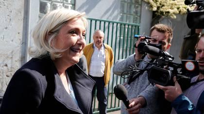 Le Pen pidió a Macron disolver la Asamblea Nacional (REUTERS/Pascal Rossignol)