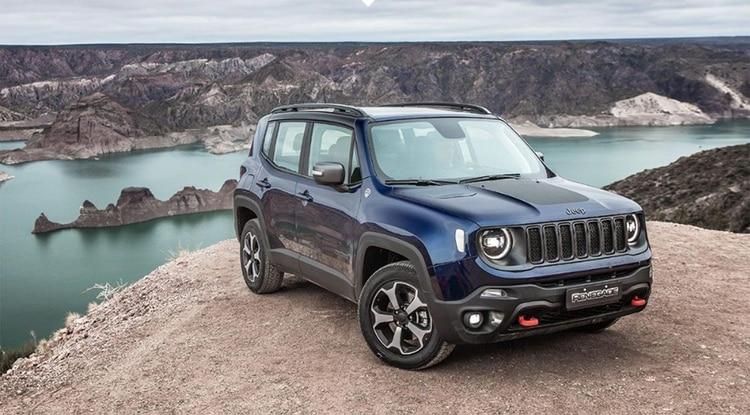 El Renegade es el modelo más chico de Jeep, ofrece la alternativa 4x4 en la versión top.