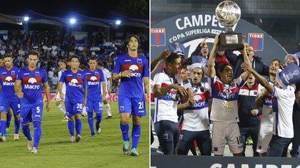Tigre descendió y fue campeón de la Copa de la Superliga