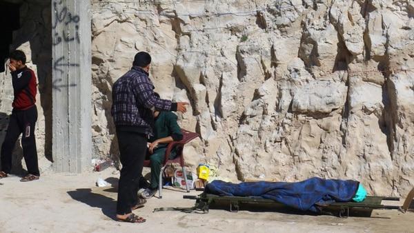 Más de medio millón de personas han muerto en los siete años de guerra civil en Siria (Reuters)