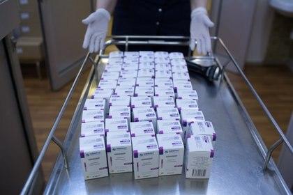 El medicamento Avifavir, es producido por ChemRar y está usándose contra el Covid-19 Foto: (Andrey Rudakov/Russian Direct Investment Fund (RDIF)/Handout vía REUTERS)