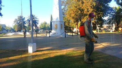 En La Pampa, los ciudadanos solo pueden circular hasta la 1 (Facebook)