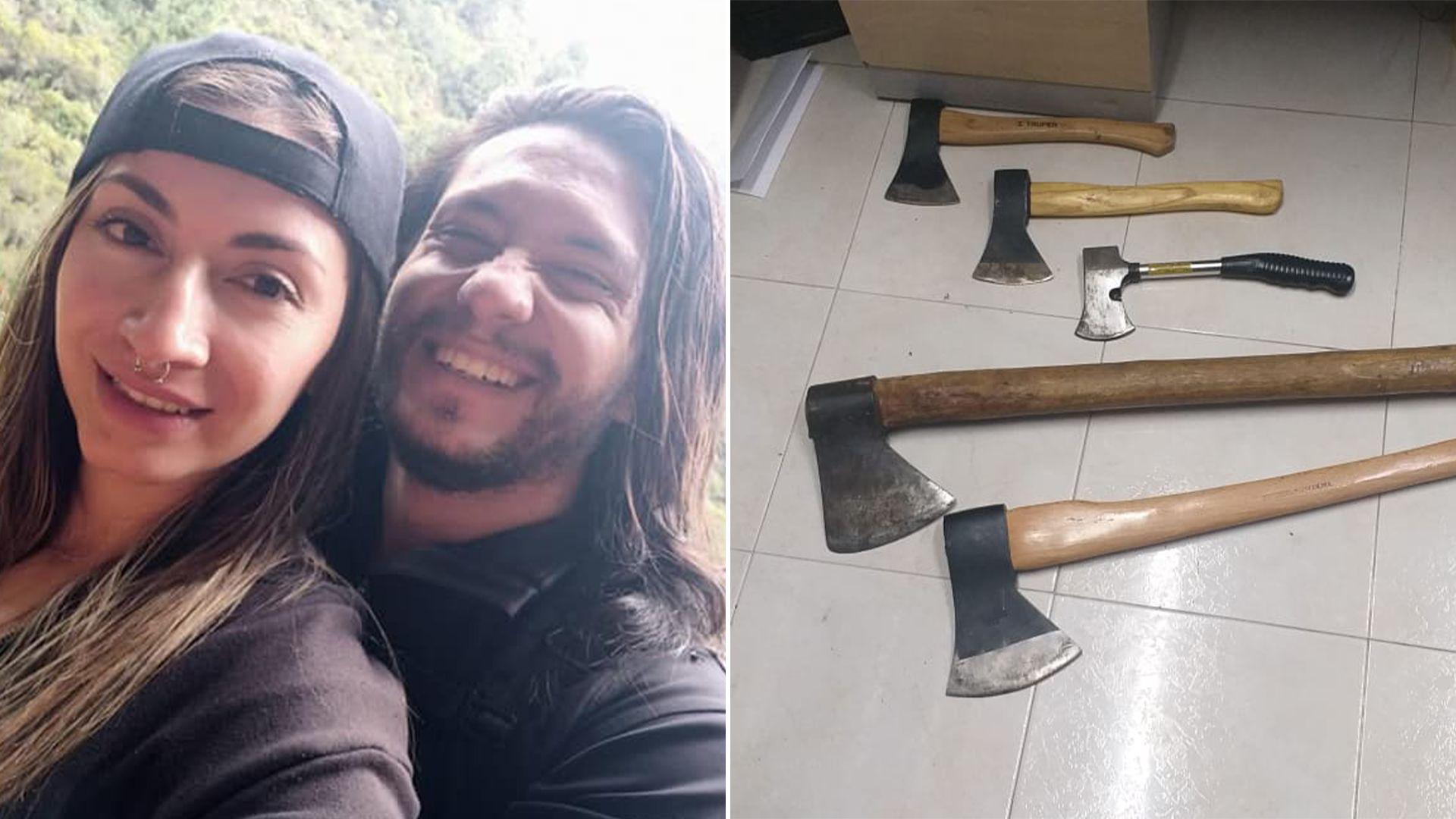 Hombre dio siete hachazos a su pareja