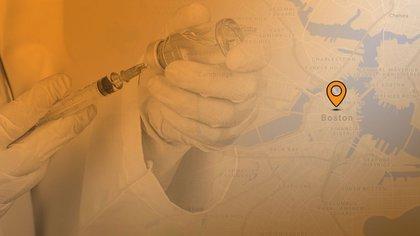 Boston inició la Fase 1 de vacunación que da prioridad a todo el personal de salud pública. (Gráfico: Infobae)