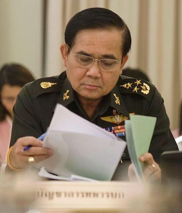 El general Prayut Chan-o-cha