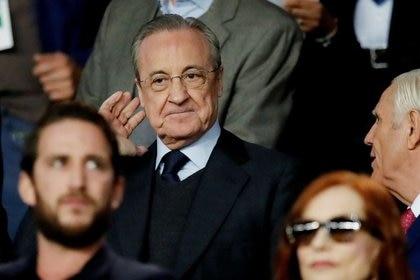 Florentino Pérez, presidente del Real Madrid e impulsor de la Superliga europea (Foto: REUTERS)